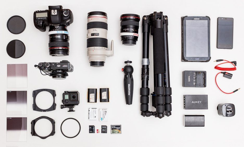 Looks like a lot of gear for one week trip? Not that much.