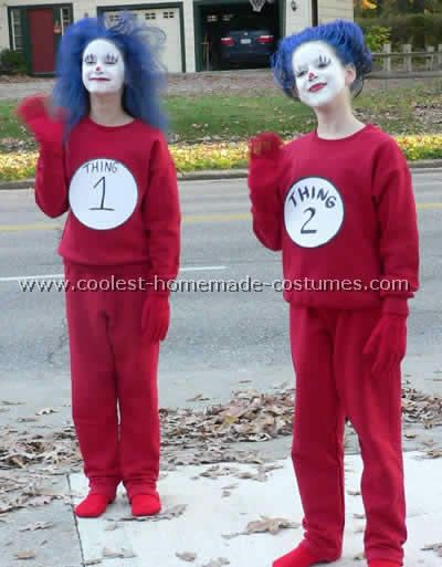 homemade cat in the hat costumes - Cat In The Hat Halloween Costume Ideas