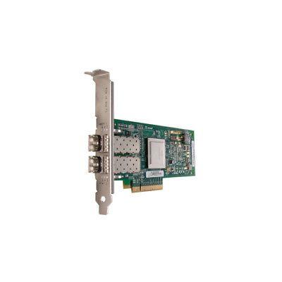 QLOGIC QLE2562-CK 8GB DUAL PORT FC HBA X8 PCIE SR LC MULTI-MODE