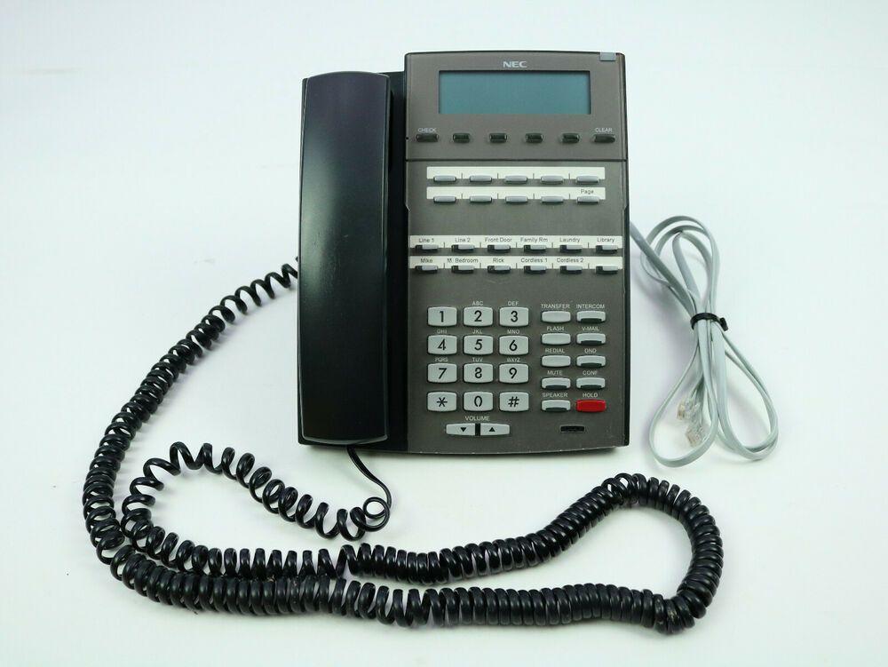 NEC DSX 22B Telephone Black Display Speakerphone 1090020