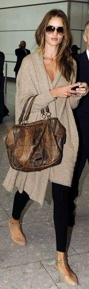 Rosie Huntington-Whiteley in Rosie Huntington Whiteley Leaves Heathrow Airport