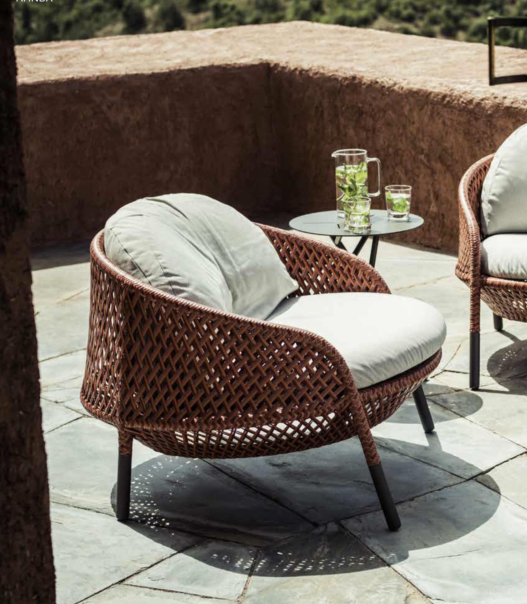 Dedon Ahnda Chair Dedon Furniture Modern Outdoor