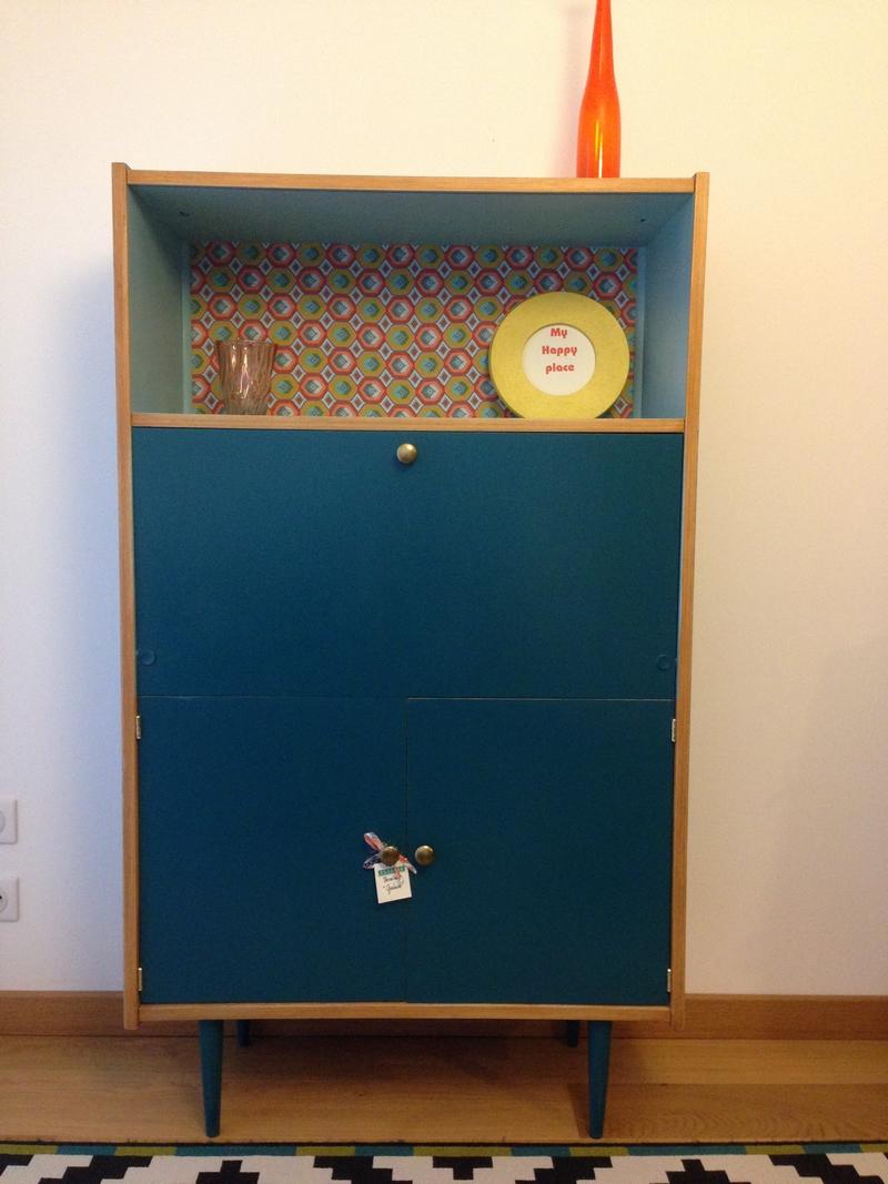 secr taire vintage elliot meubles vintages lilibroc. Black Bedroom Furniture Sets. Home Design Ideas