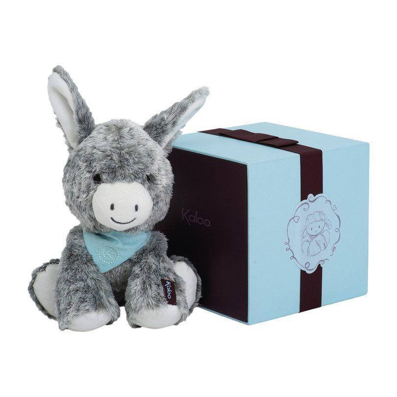 Donkey Plush Toy Medium in Gift Box Soft Baby Cuddly Cute Kaloo Les Amis Regliss