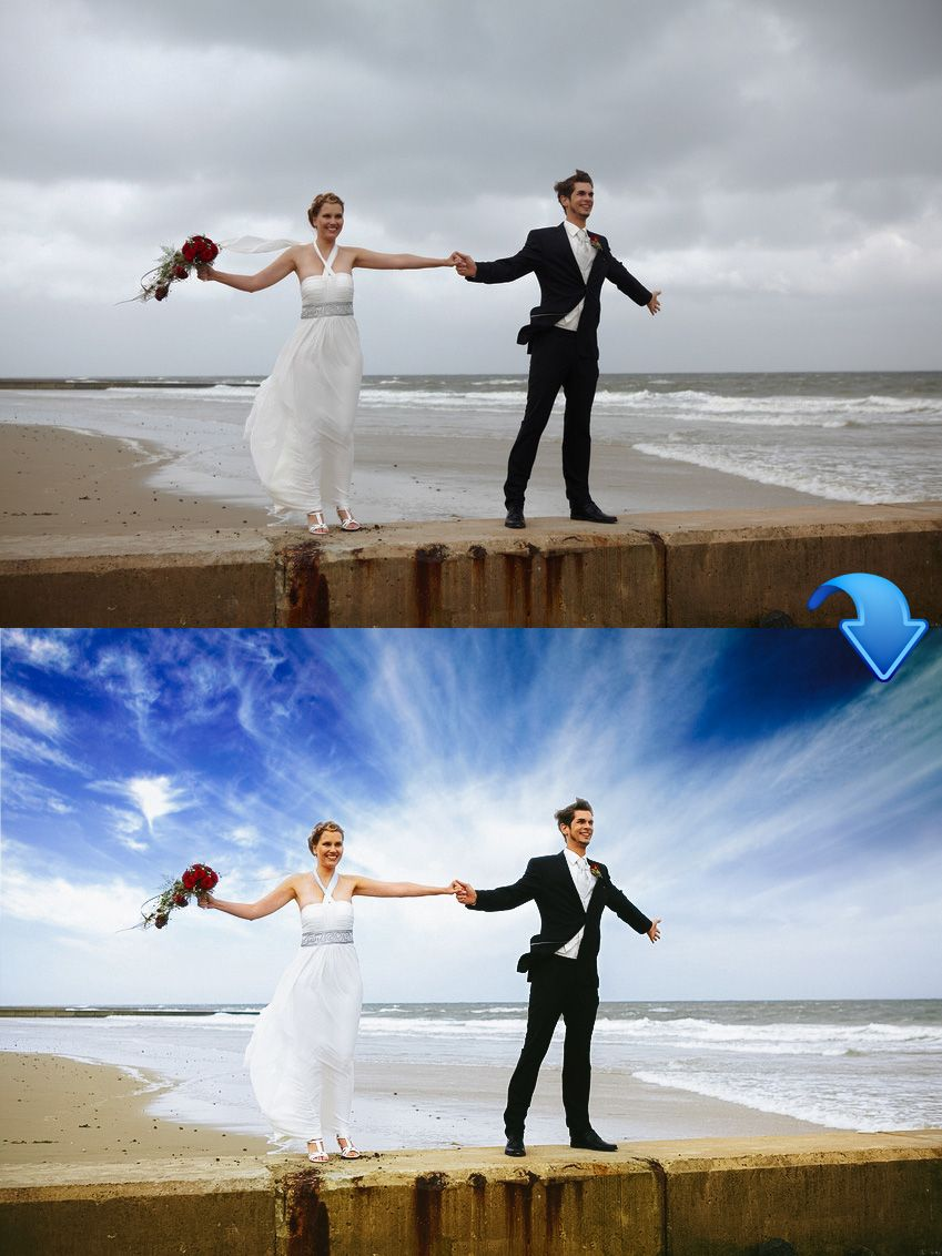 Adobe is widely used for photo retouching. Check
