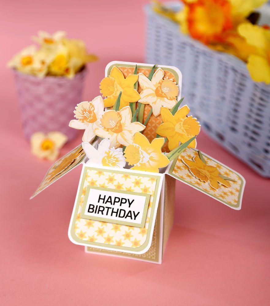 Free Box Card Template Simply Cards Papercraft Magazine Pop Up Card Templates Box Cards Tutorial Pop Up Box Cards