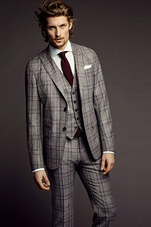 tartan suit men - Cerca con Google
