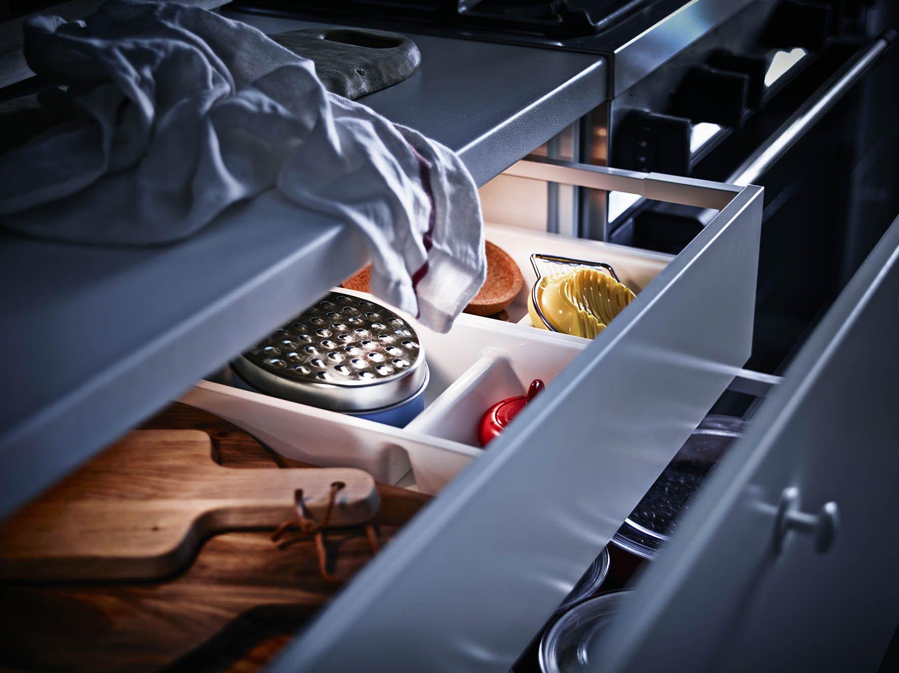 ikea omlopp led verlichting in de lades keuken