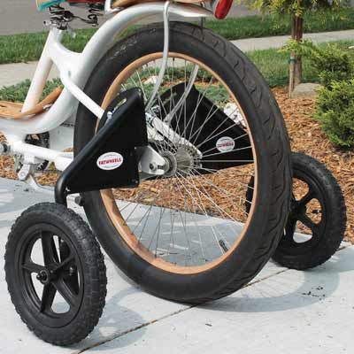 Adult Fatwheels Training Wheels Bicycle Training Wheels Three