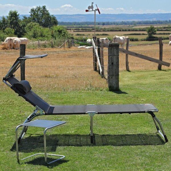 Bain De Soleil Pliable Giulia #bain #soleil #transat #fauteuil #outdoor #