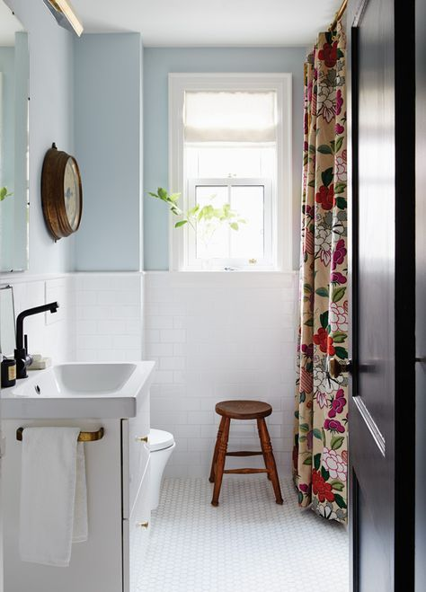 Salle de bain joyeuse