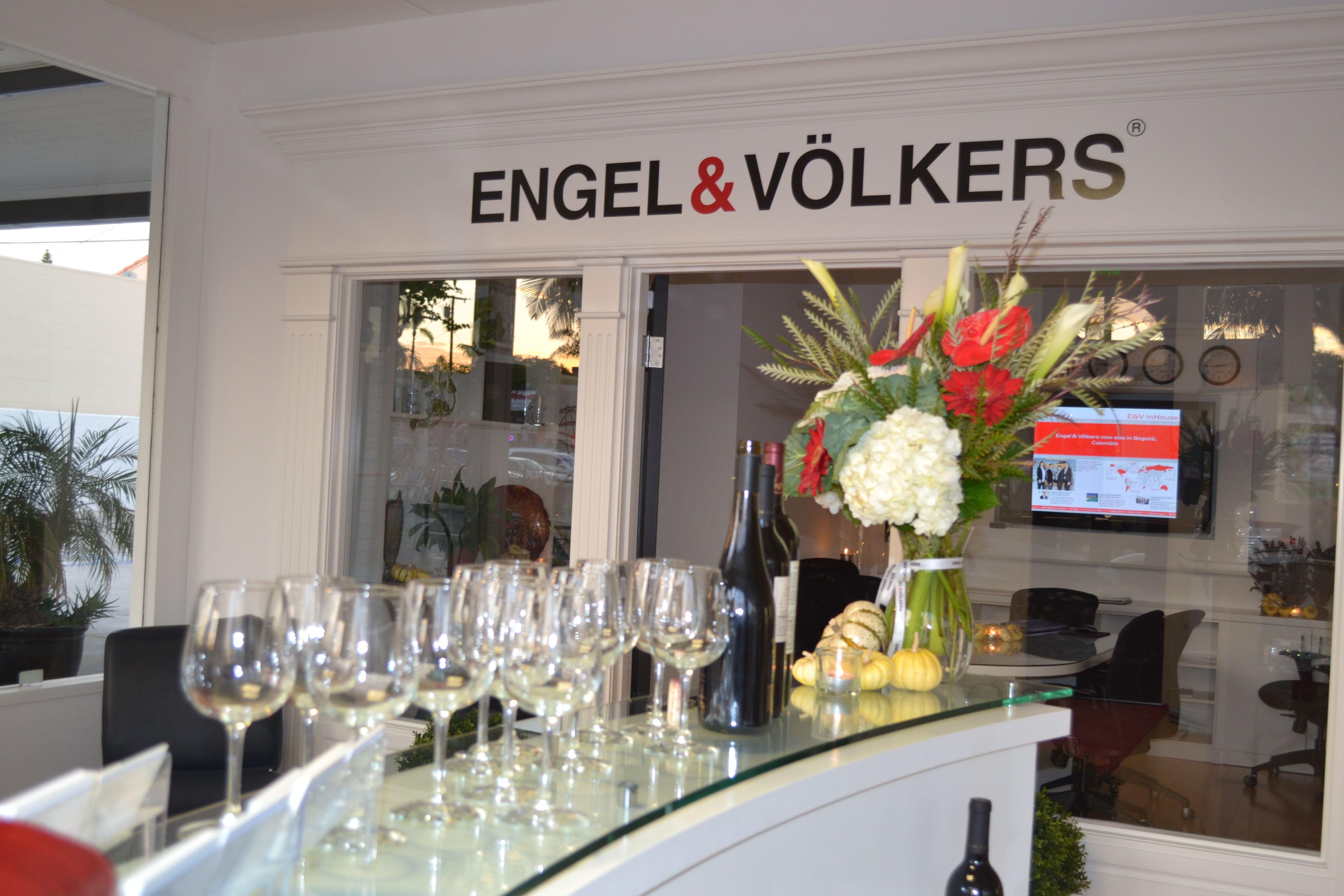 Engel & Völkers LP Summit | Cocktail at Corona Del Mar Office