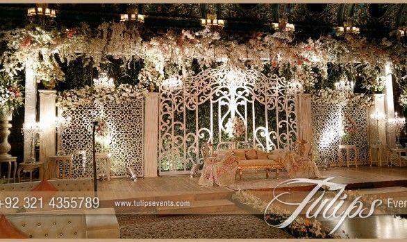 Fairy Wedding Gate Stage
