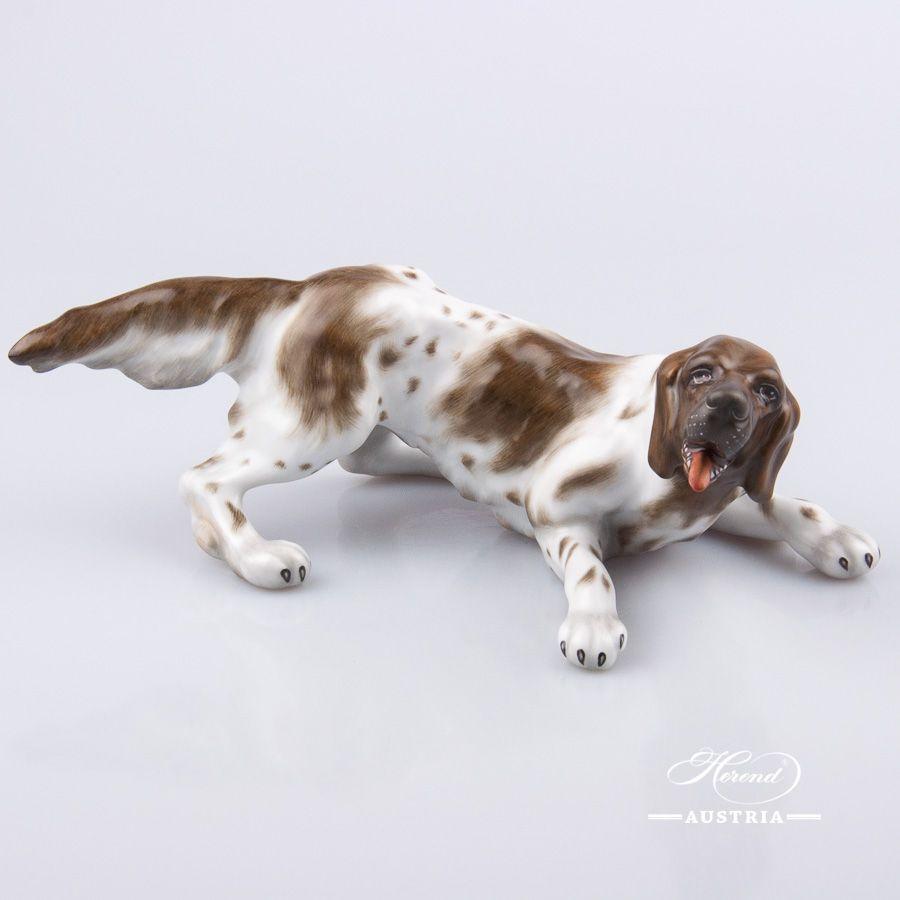 Dog - German Vizsla | Dogs for Herend lovers | Dogs, Vizsla, Figurines