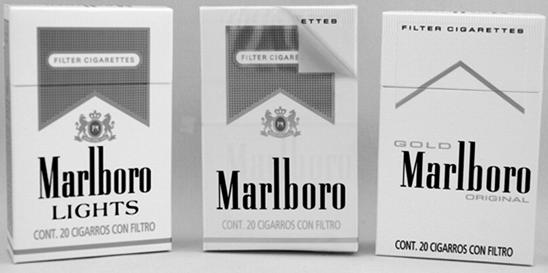 Blue cigarettes Marlboro Chicago