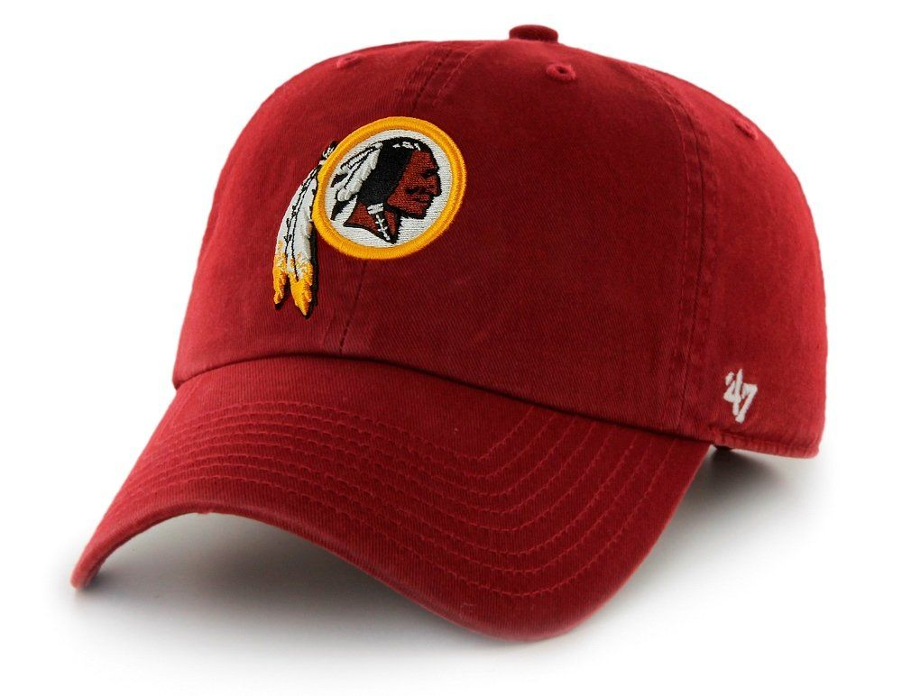 big sale a48aa fcd84 NFL Washington Redskins Clean Up Adjustable Hat, Razor Red, One Size Fits  All Fits All