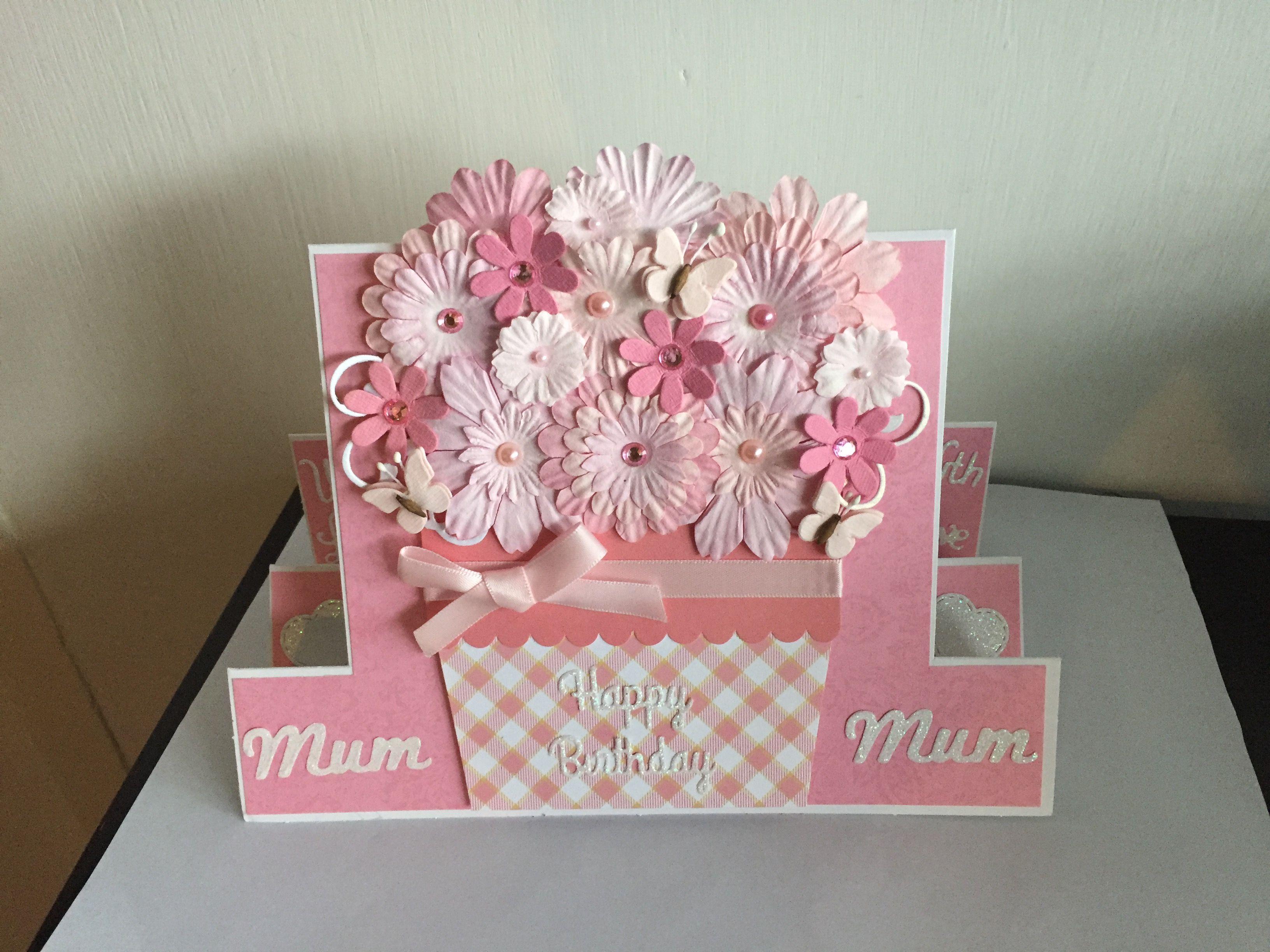 Birthday card flowers mum diy cards pinterest cards and diy cards birthday card flowers mum izmirmasajfo Choice Image