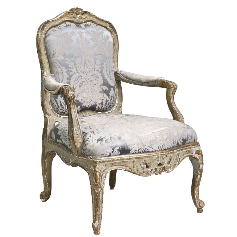 italian rococo genoese fauteuil rococo armchairs and modern. Black Bedroom Furniture Sets. Home Design Ideas