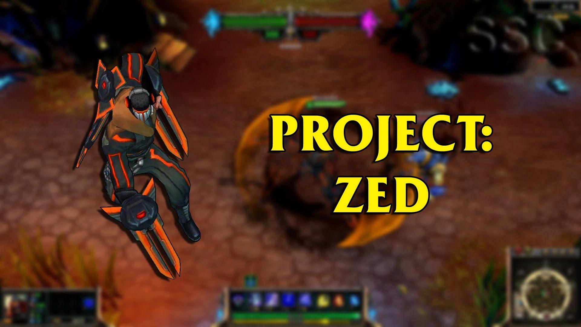PROJECT: Zed LoL Custom Skin ShowCase   League of Legends