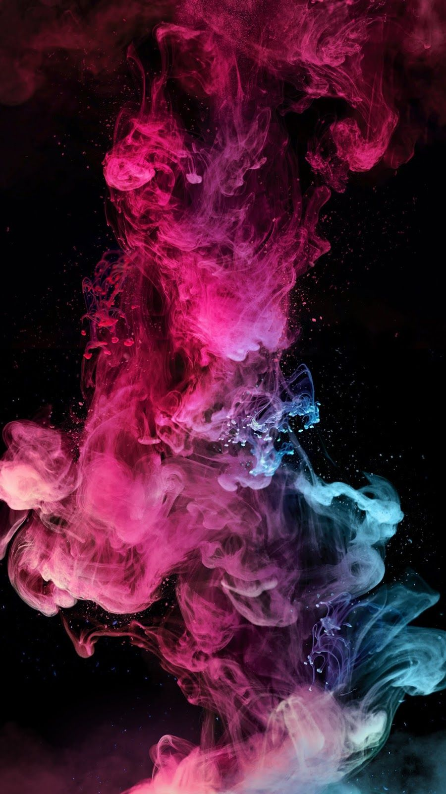 Colorful Splash Live Wallpaper Iphone Smoke Wallpaper Abstract