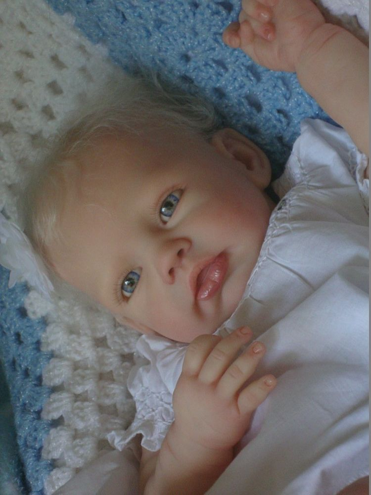 Reborn Baby Girl Sold Out Kylie By Romie Strydom Stunning Blonde