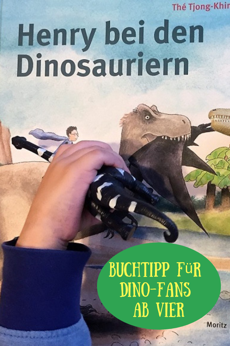 Henry bei den Dinosauriern: Kinderbuch mit monumentalen Illustrationen, Pterosauriern und Triceratopsen – Mama und die Matschhose