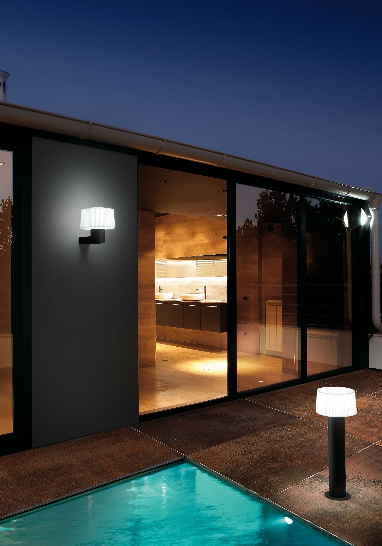 ideas para iluminar el jardín muffin lamp