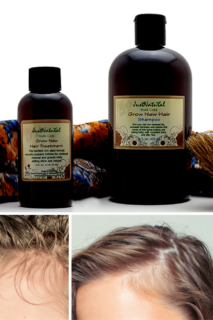 Grow New Hair Shampoo / I have used several products to