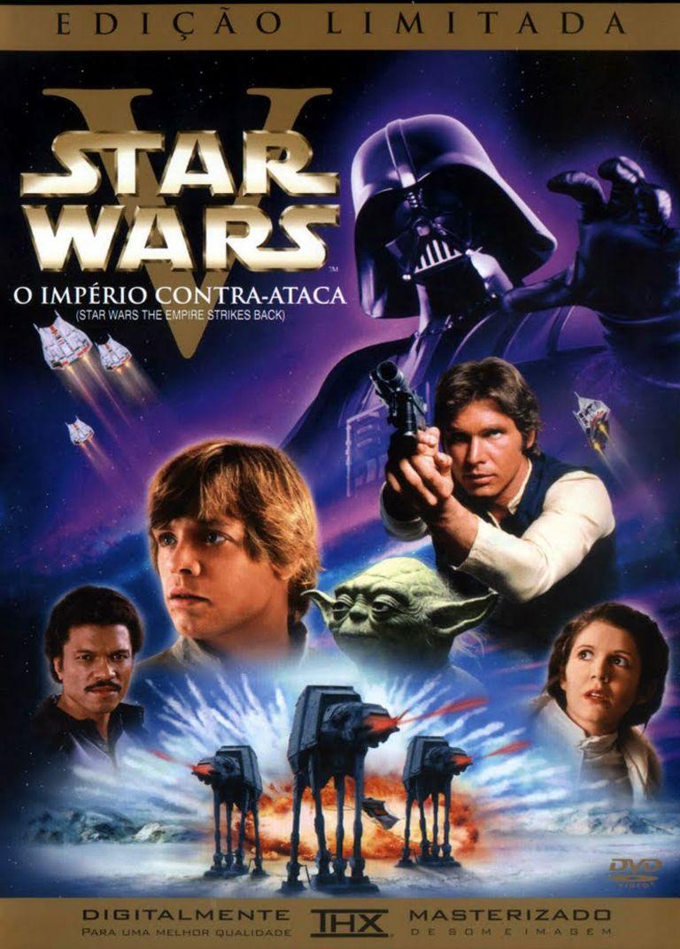1980 Star Wars 5 O Imperio Contra Ataca Star Wars Poster