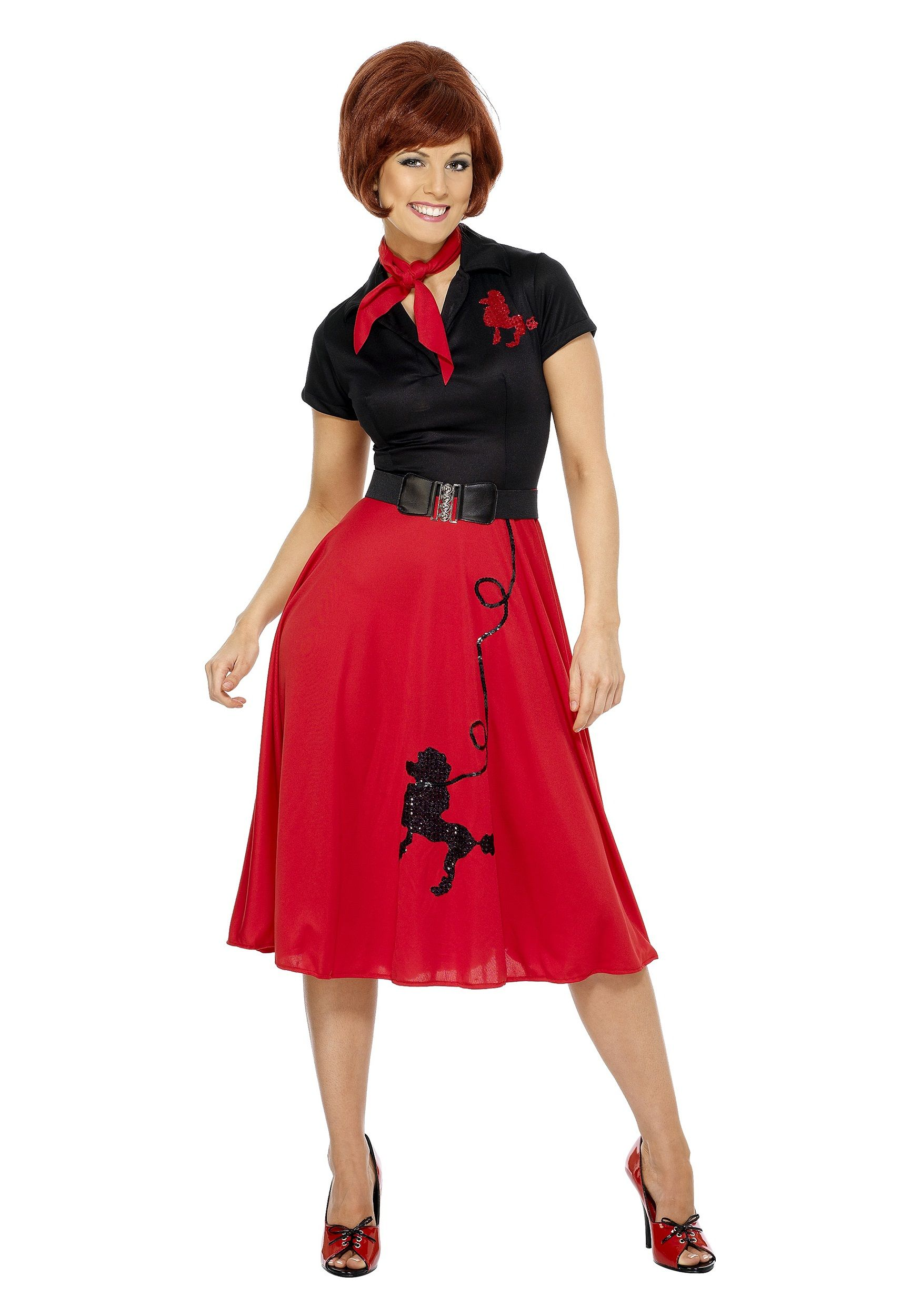 womenu0027s style poodle costume with dress scarf and belt find this pin and more on plus size halloween