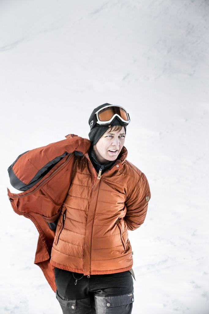 fjellreven keb padded jakke dame – tarmac — Fjellrevenshop