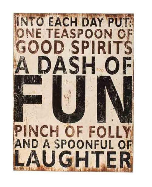 Folly and fun ... like it.