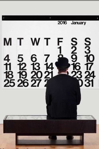 2016 Stendig Calendar Massimo Vignelli in Stock Free Shipping New in Box   eBay
