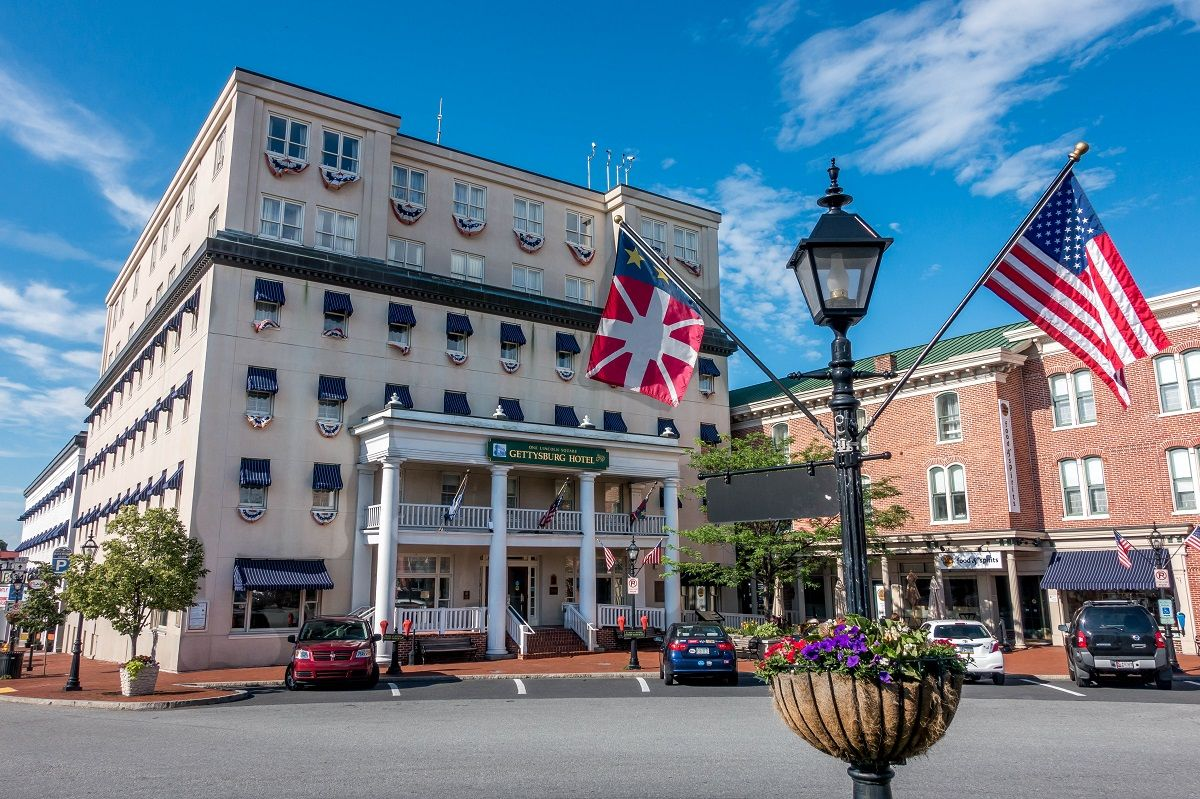 The Historic Gettysburg Hotel Is One Of Many Great Places To Stay In Pennsylvania