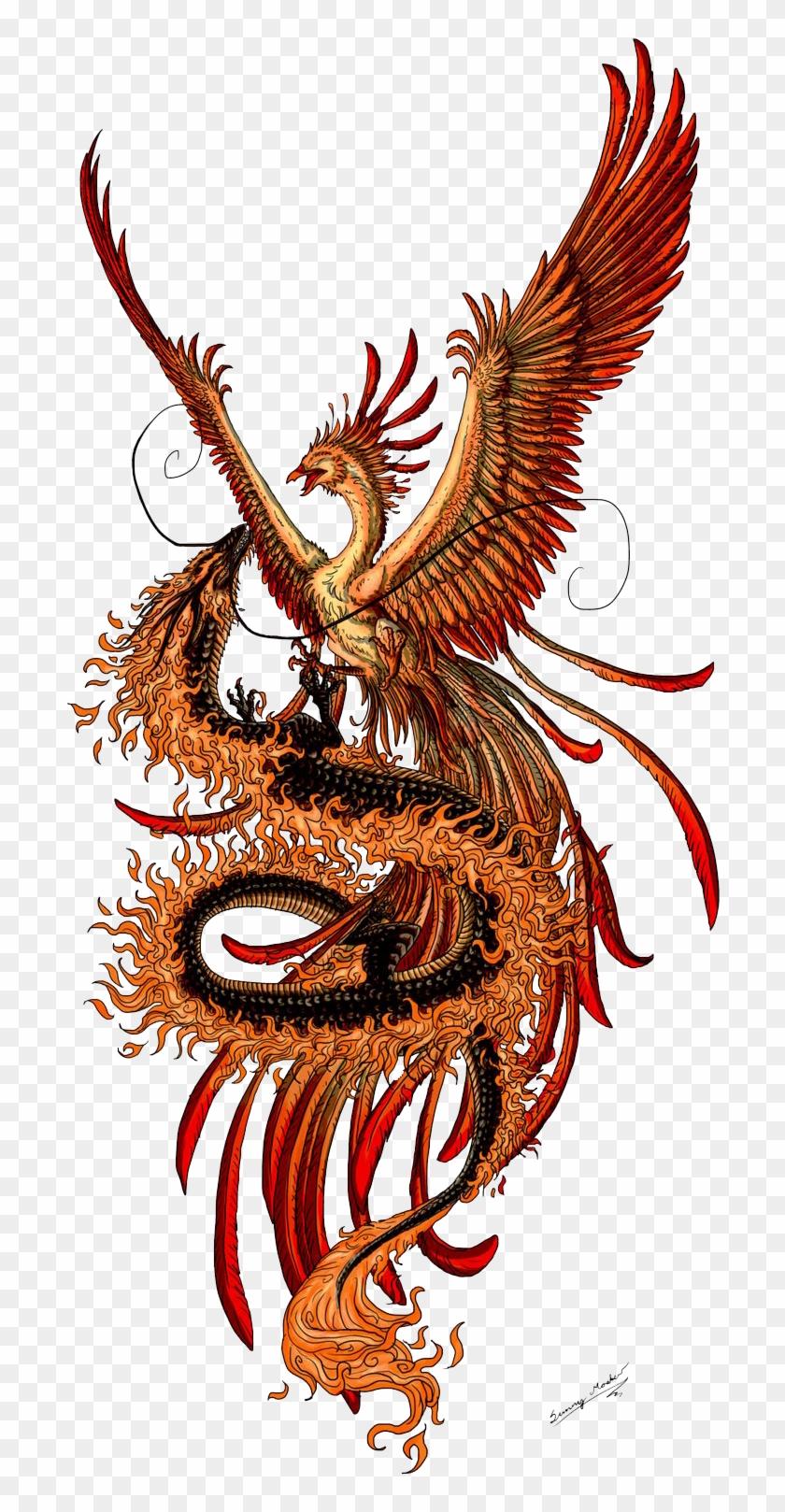 Vermilion Bird Google Search Tattoo Dragon And Phoenix Phoenix Tattoo Phoenix Drawing