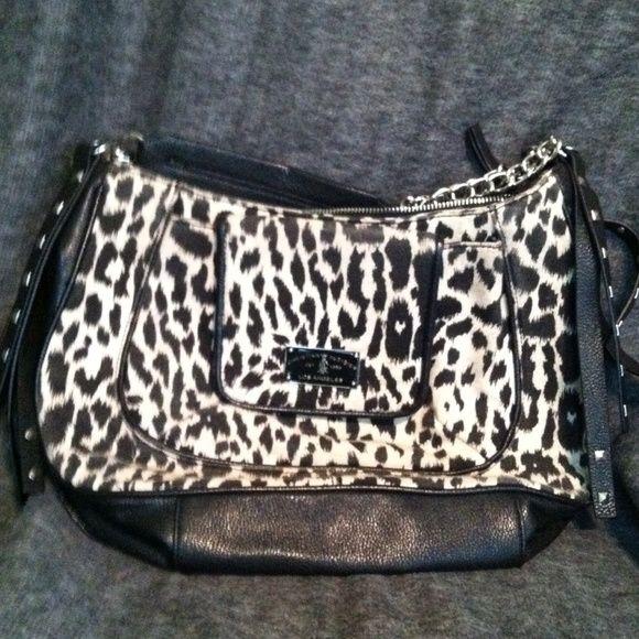 Christian Audigier handbag Animal print Christian Audigier handbag. Lightly used. Christian Audigier Bags