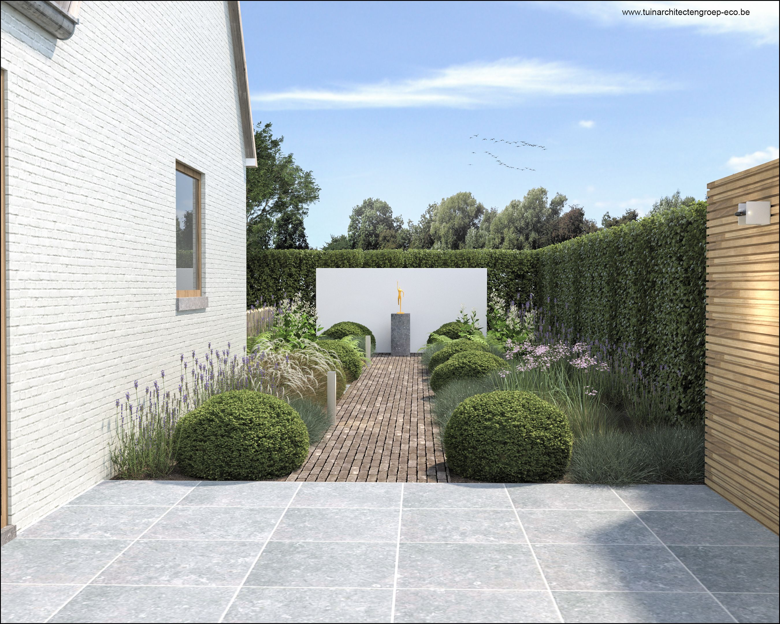 Tuinontwerp garden tuinarchitect timothy cools for 3d tuinarchitect