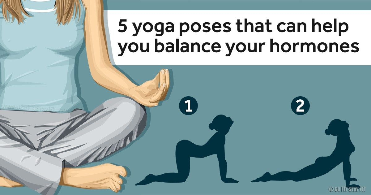 5 Yoga Poses That Can Help You Balance Your Hormones ...