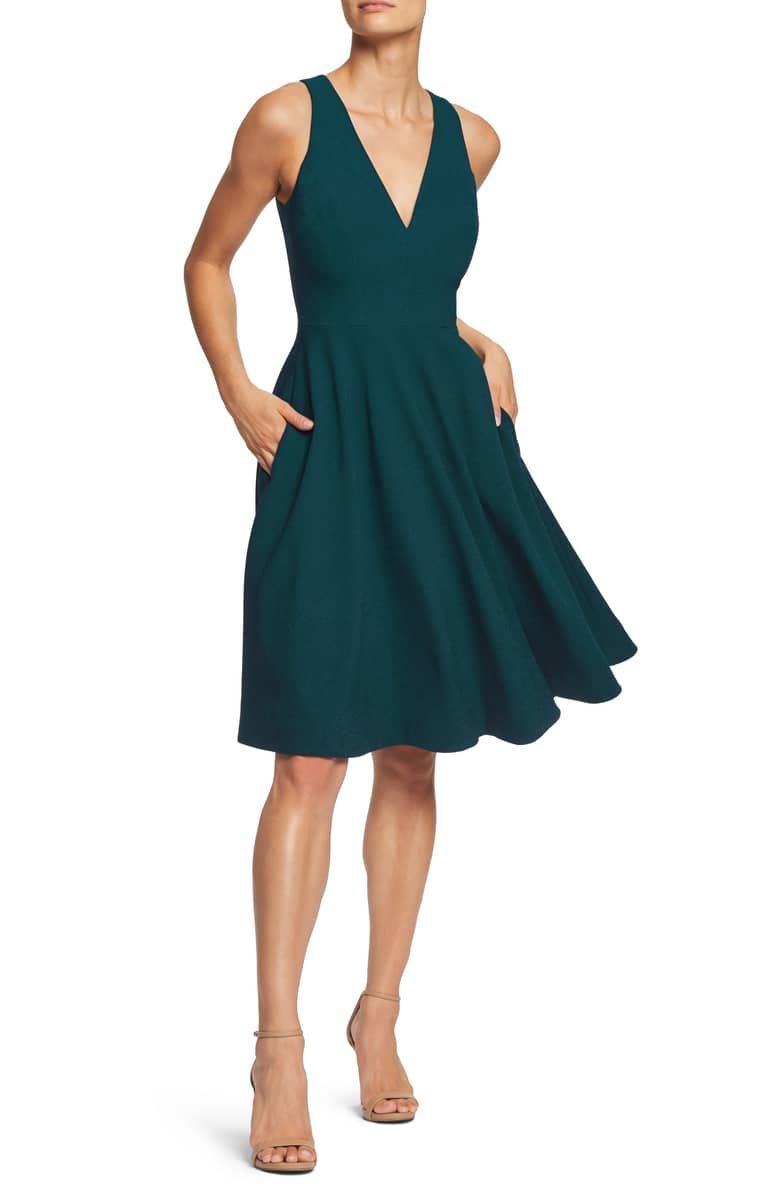 Dress The Population Catalina Fit Flare Cocktail Dress Nordstrom Fit And Flare Cocktail Dress Fit Flare Dress Flare Dress [ 1196 x 780 Pixel ]