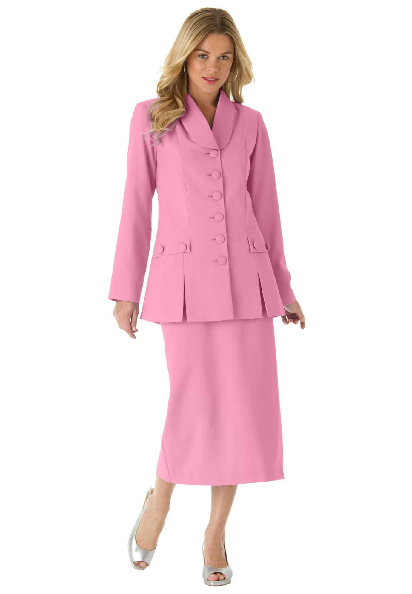 c295d48d0a45f 10-Button Skirt Suit