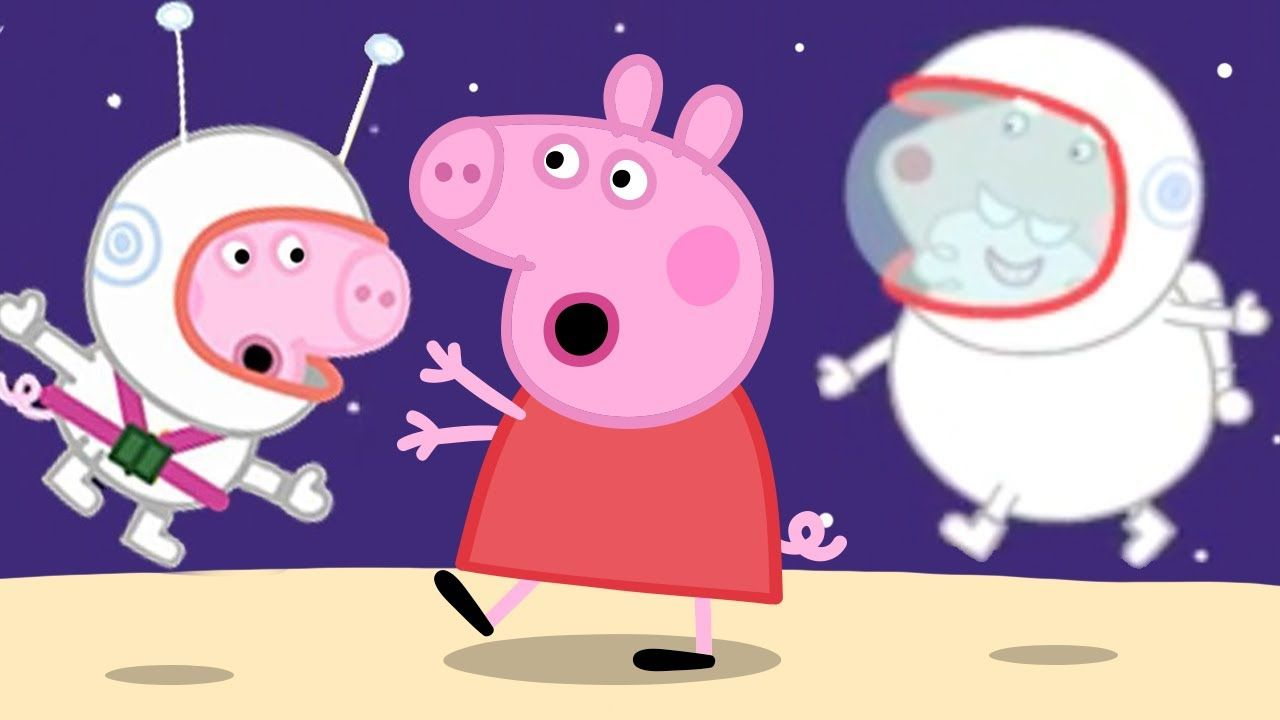 Peppa Pig Official Channel | Peppa Pig Flys on the Moon! ????50th Anniversary of Moon Walk Speci... #peppapig