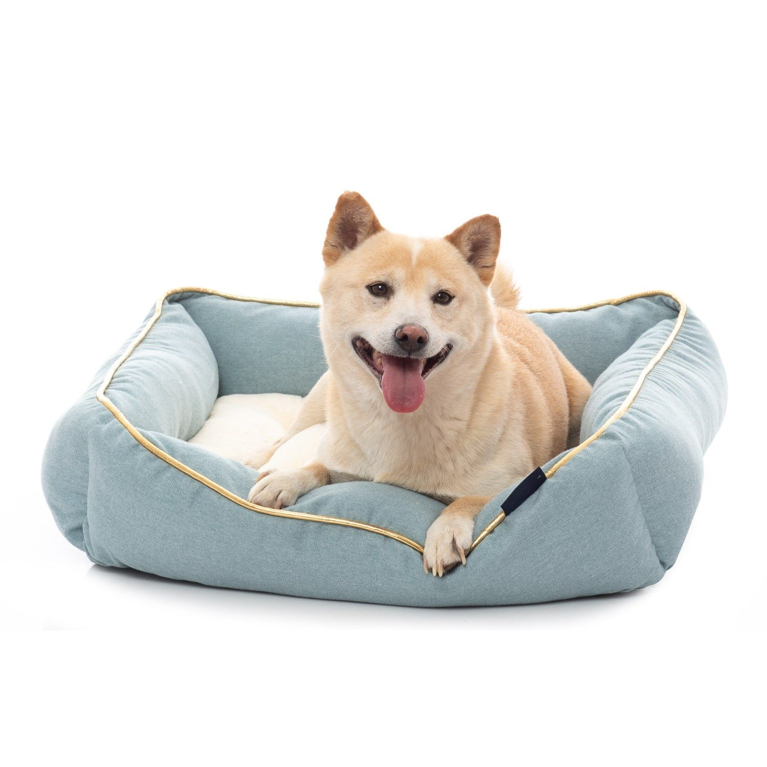 Kenwood Co Monaco Square Cuddler Pet Bed 25x25 In Heathered