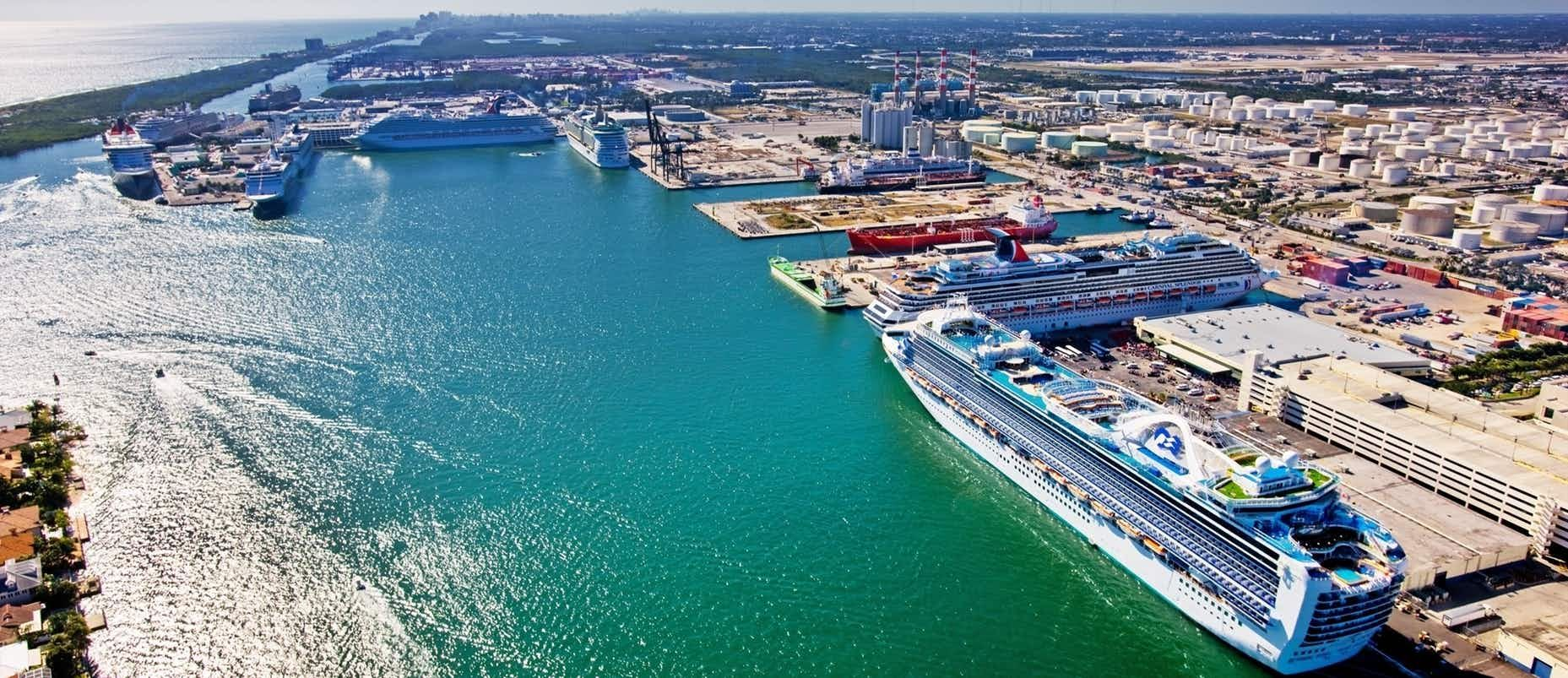 Fort Lauderdale Port >> Guide To Port Everglades Cruise Ports In 2019 Fort