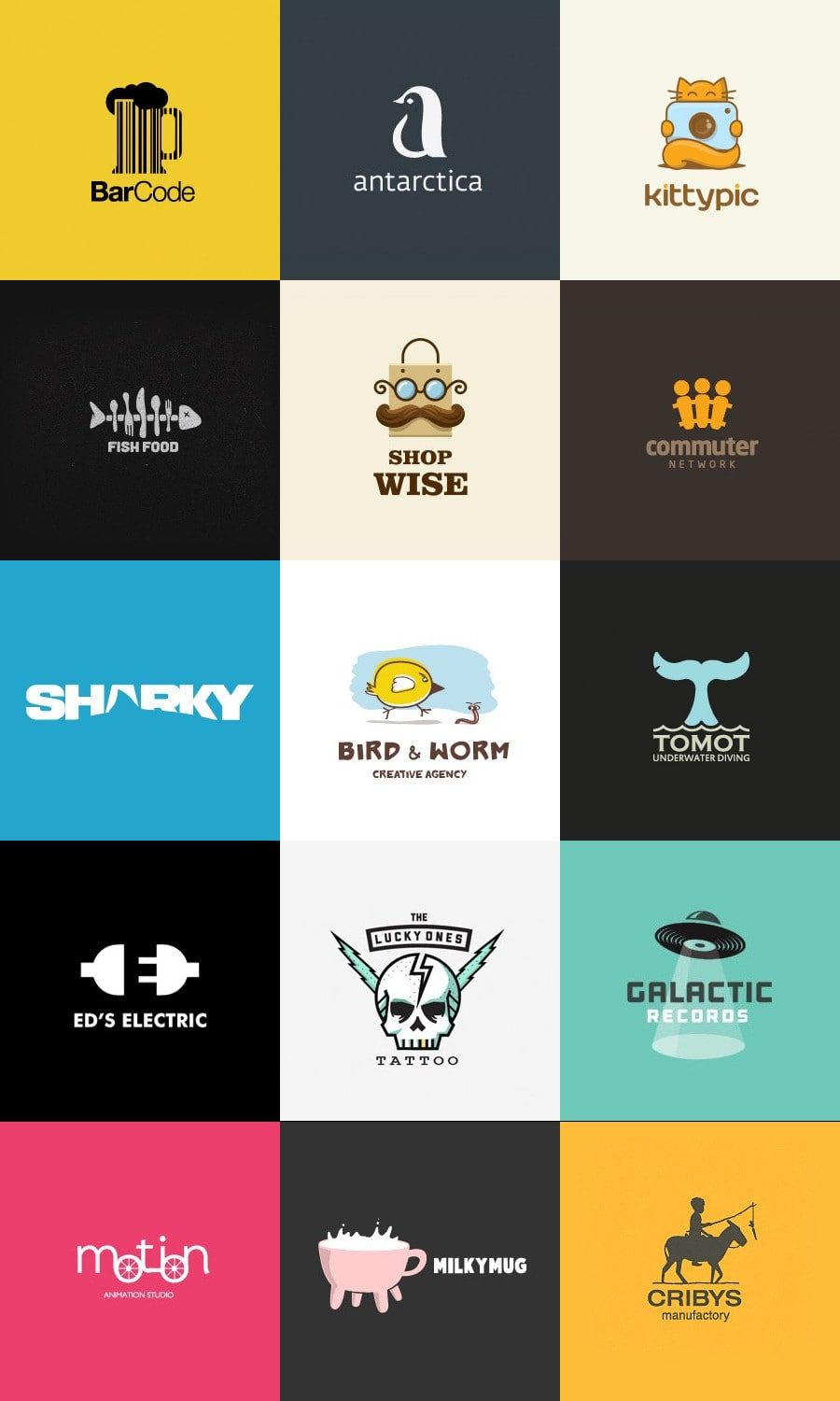 45 Inspirational Ideas For Creative Logo Design Logo Design Professional Logo Design Logo Design Ideas Graphics