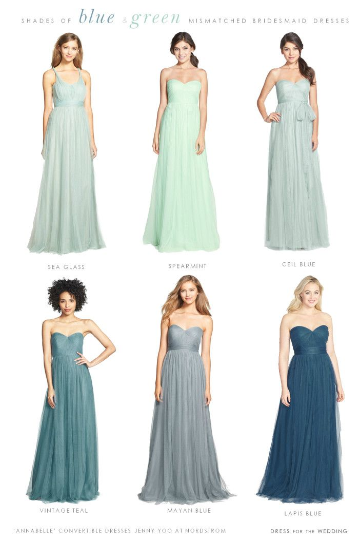 Soft Blue Bridesmaid Dresses | Pinterest