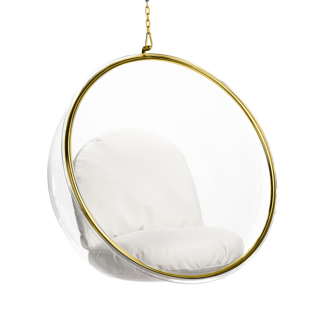 Eero Aarnio Bubble Chair Gold Special Edition Bubble Chair