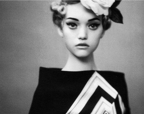 Emma Ward. Australian fashion model turned actress. Young and classy.