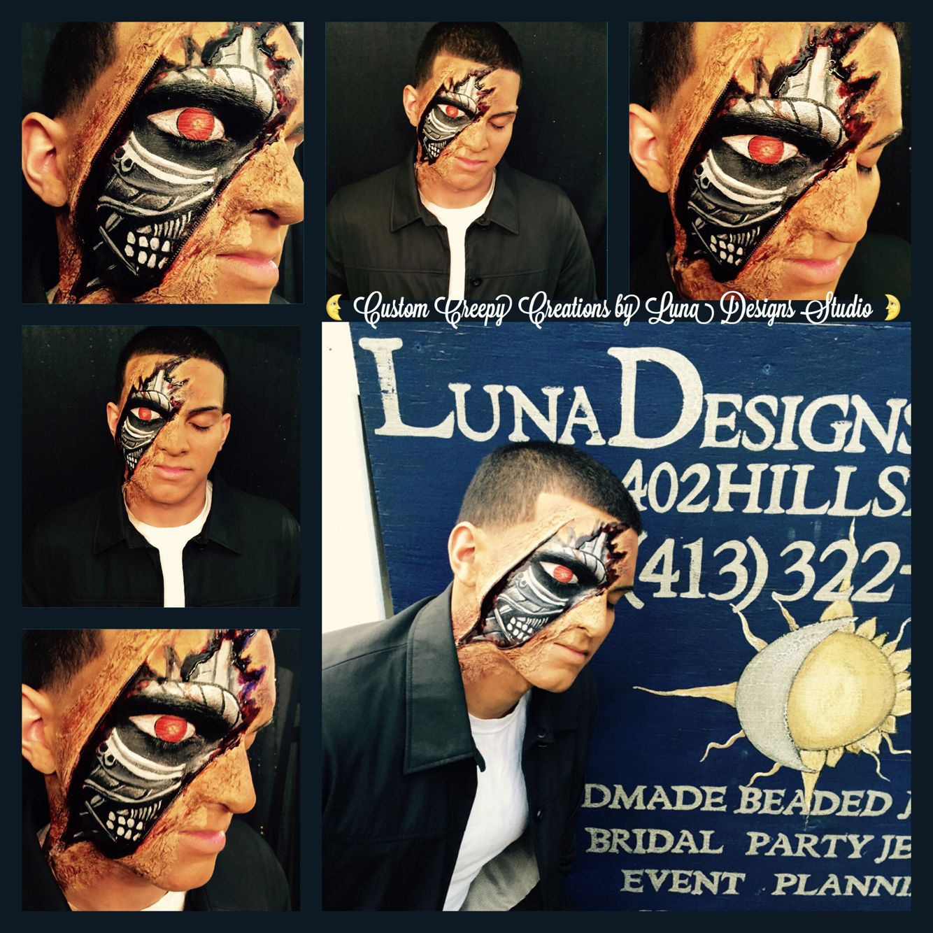 Custom Creepy Creations and Extreme Body Art by Luna