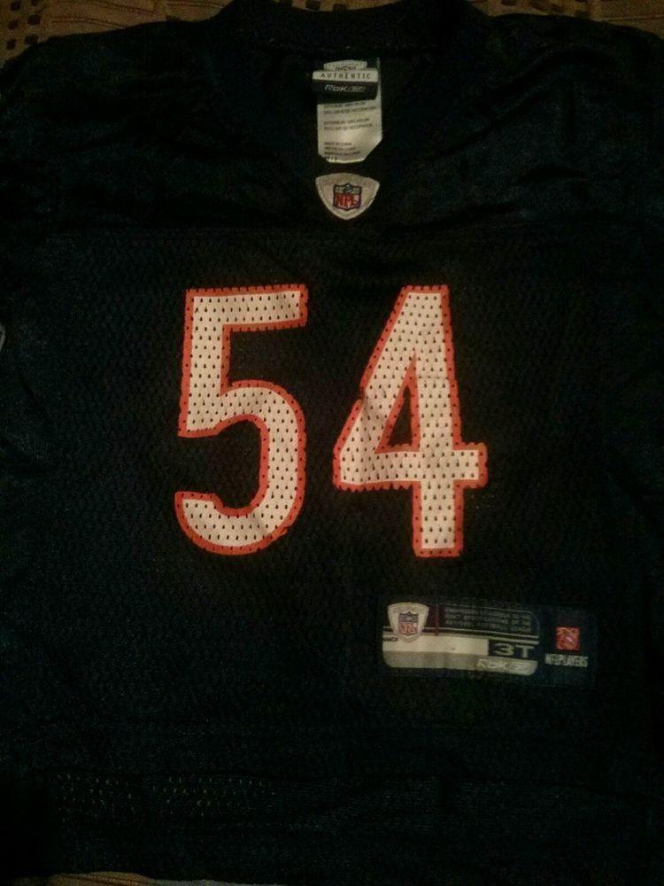 wholesale dealer 13c13 01f28 Chicago Bears Toddler Brian Urlacher jersey 3-3T NFL | Five ...