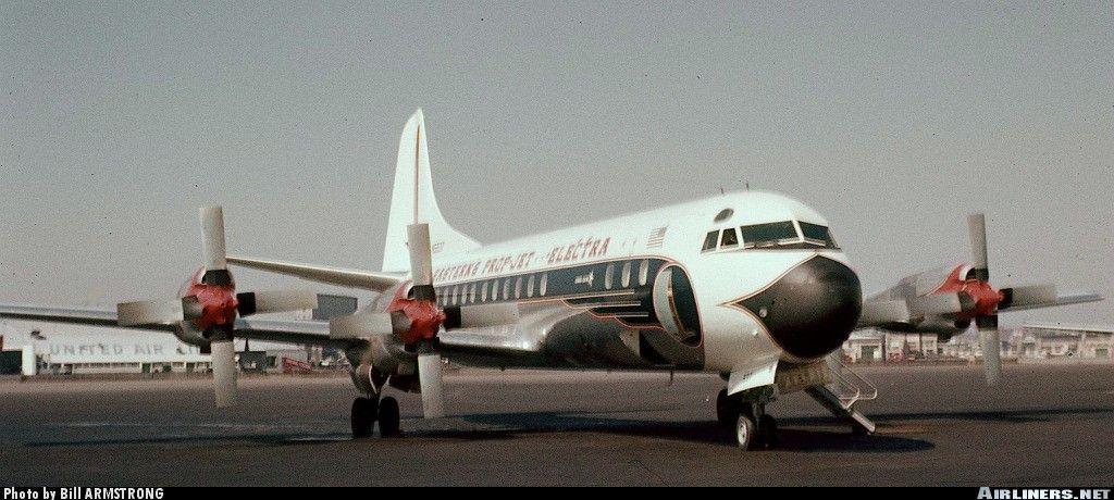 September 5, 1959 at BOS  Eastern Lockheed L-188 Electra